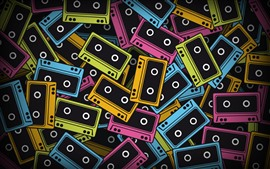 Preview wallpaper Colorful tapes