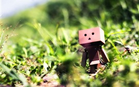 Preview wallpaper Danbo, bushes