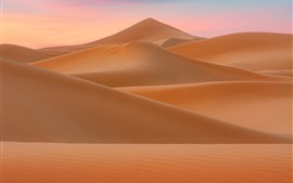 Preview wallpaper Desert, dunes, nature landscape