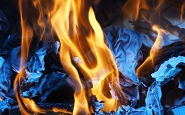 Fogo, chamas, cinzas
