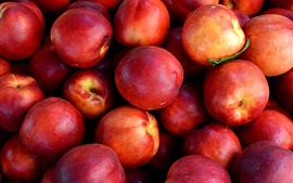 Preview wallpaper Many red peaches