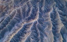 Aperçu fond d'écran Vue de dessus, montagnes, texture