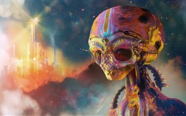Alien, art picture