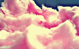 Pink cotton candy