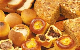 미리보기 배경 화면 빵, 아침, 음식