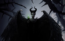 Preview wallpaper Angelina Jolie, Maleficent: Mistress of Evil