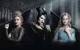 Preview wallpaper Maleficent 2