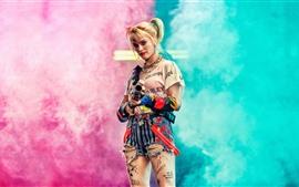 Aperçu fond d'écran Margot Robbie, Harley Quinn: Oiseaux de proie