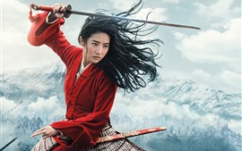 Preview wallpaper Mulan 2020 movie
