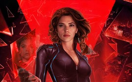 Preview wallpaper Scarlett Johansson, Black Widow 2020