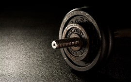 Preview wallpaper Dumbbells, rusty, fitness, gym
