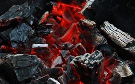 Дрова, угли, сгорание