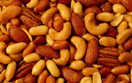 Preview wallpaper Roasted nuts
