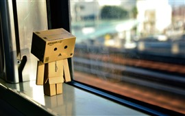 Preview wallpaper Danboard, window