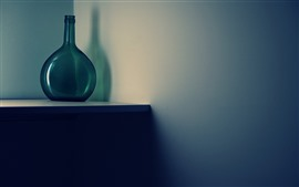 Preview wallpaper Bottle, table, shadow, still life
