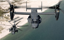 Preview wallpaper CV 22 osprey military aircraft