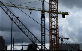 Cranes, machine