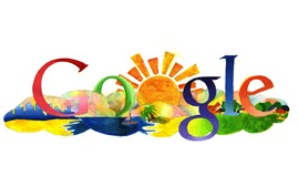 Preview wallpaper Google, colorful, painting