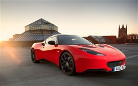 Preview wallpaper Lotus red supercar