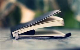 미리보기 배경 화면 하나의 책, 정물, 흐릿한