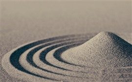 Preview wallpaper Sand, circles