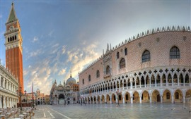 Venice, piazza, city