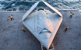 Preview wallpaper X-47B UCAV