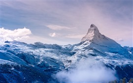 Preview wallpaper Alps, Switzerland, snow, peak