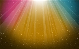 Preview wallpaper Colorful stripes, stars, abstract