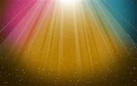 미리보기 배경 화면 다채로운 줄무늬, 별, 추상