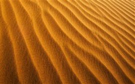 Preview wallpaper Desert, sand, texture, stripe