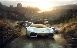 Preview wallpaper Game picture, supercars, race
