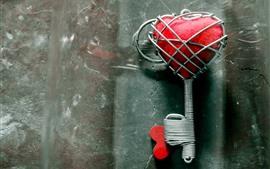 预览壁纸 爱心钥匙