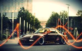 Классический автомобиль Porsche 911