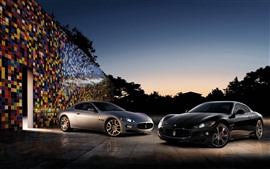 Preview wallpaper Two Maserati supercars