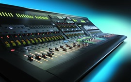 Preview wallpaper Audio control mixer, equalizer