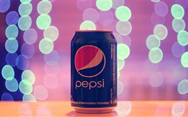 Preview wallpaper Pepsi cola, light circles