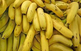 Un peu de banane, fond de fruits