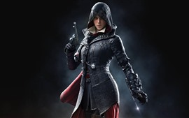 Assassin's Creed, girl, classic game