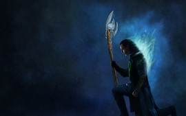 Loki, Avengers, photo d'art
