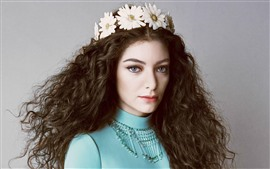 Preview wallpaper Lorde 02