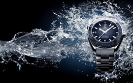 Omega watches, water