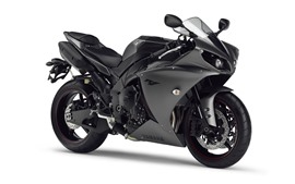 Preview wallpaper Yamaha YZF R125 black motorcycle