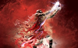 Preview wallpaper Basketball, sport, creative design