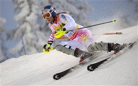 Preview wallpaper Ski, women, snow, sport