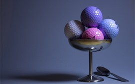 Preview wallpaper Some golf balls