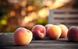 Preview wallpaper Some peaches, hazy