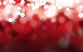 预览壁纸 明亮的光圈,红色背景