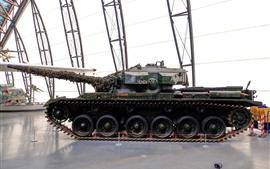Museo, armadura, tanque