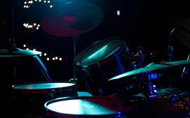 Preview wallpaper Musical instrument, concert, drum kit